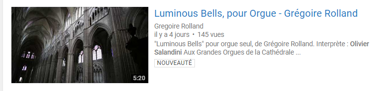Rolland Luminous Bells